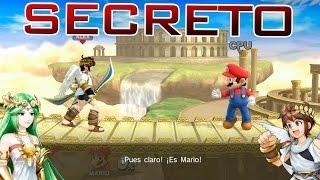 getlinkyoutube.com-✤ Super Smash Bros. Wii U ✤ | *SECRETO* Todas las Conversaciones de Palutena con Pit [FULL HD|60fps]