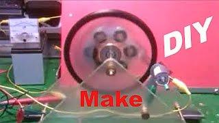 getlinkyoutube.com-HOW TO MAKE MAGNET MOTOR
