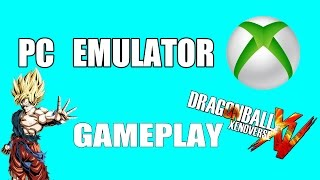 how to download and install xbox 360 emulator + gameplay dbxv | DBXV | XBOX EMULATOR TEST GAMEPLAY