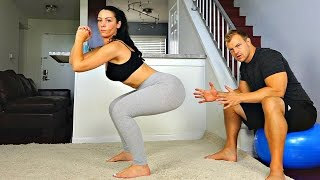 getlinkyoutube.com-Improve Your Squats for the Perfect Butt -- 2 Tips