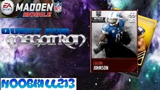 getlinkyoutube.com-Madden Mobile Player Pack Opening| Quest For Megatron