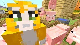 getlinkyoutube.com-Minecraft: Xbox - Building Time - Pigsty Derby! {75}