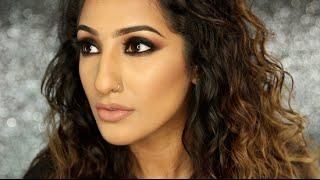getlinkyoutube.com-Black Smokey Eye Makeup Tutorial | AnchalMUA