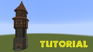 getlinkyoutube.com-Minecraft Tutorial - Turm bauen - build a tower