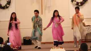 getlinkyoutube.com-Christmas Program 2013. BNCC Church. Group Dance by Rajen, Sushimta, Mahima and Santa. [HD]