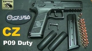 getlinkyoutube.com-CZ P09 Duty Pistol  19+1 9mm
