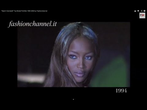 """Naomi Campbell"" Top Model Portfolio 1993 2004 by Fashionchannel"