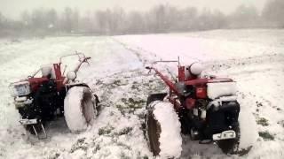 getlinkyoutube.com-Сніг випав за 10 хв.під час фрезування 20квітня!