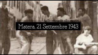 Matera, 21 settembre 1943