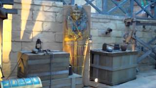 getlinkyoutube.com-Universal Studio Singapore Ancient Egypt Treasure Hunters 新加坡環球影城古埃及