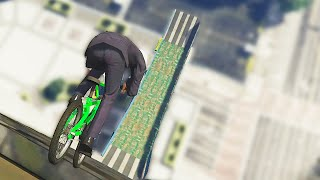 getlinkyoutube.com-Driving Down Buildings BMX (GTA 5 Funny Moments)