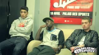 1995 - On ne clash pas des mecs inconnus Interview ''Paris Minute Sud''