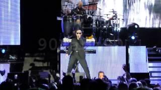 getlinkyoutube.com-Pitbull - Sweet Child O' Mine / Rain Over Me Live Planet Pit World Tour Albuquerque NM