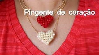 getlinkyoutube.com-NM Bijoux - Colar com pingente de Coração