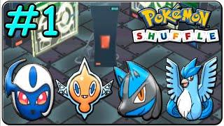 getlinkyoutube.com-Pokémon Shuffle 100% Walkthrough (Stage EX 1,2,3 & 4)