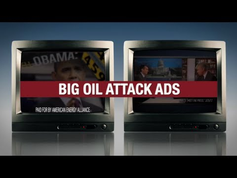 """Remember - Big Oil Tax Breaks"" - Obama for America 2012 Television Ad"