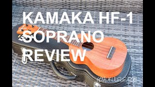 Got A Ukulele Reviews - Kamaka HF-1 Standard Soprano