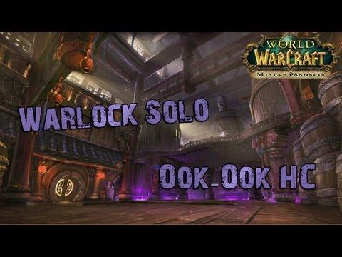 Warlock solo Ook-Ook HC (Stormstout Brewery)
