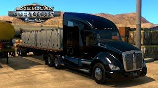 getlinkyoutube.com-American Truck Simulator   Iniciando   Primer Viaje   Primeras impresiones