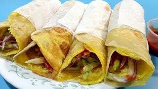 getlinkyoutube.com-Egg Roll - Indian Cuisine