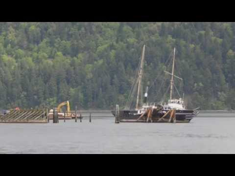 Click to view video Time Lapse Tugboat & Barge Vancouver Island Canada