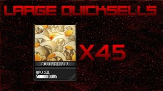 getlinkyoutube.com-45 Large Quick Sells in Madden Mobile! | AMAZING COIN MAKING
