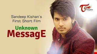 getlinkyoutube.com-Unknown Message   Latest Telugu Short Film   Hero Sandeep Kishan   By Chakradhar Reddy