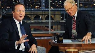 getlinkyoutube.com-David Letterman with British Pig Fucker DAVID CAMERON
