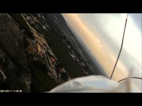 Radjet 800 mobius action cam accidente avion rc