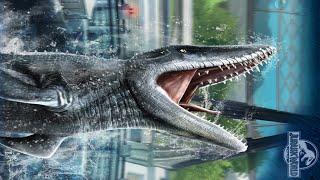 getlinkyoutube.com-Jurassic World The Game: Unlocking Mosasaurus Be Top 1% Players | Mosasaurus Event
