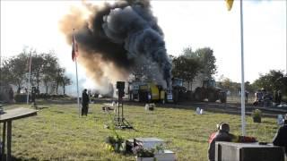 getlinkyoutube.com-Turbo engine diesel tractor - DM TRACTOR PULLING