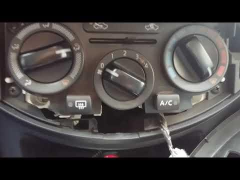 Отключение автоматического включения кондиционера Nissan note
