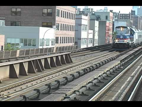 Amtrak Acela Views @ Grand Central & 125th St. 5-12-12