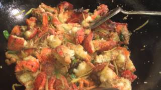 getlinkyoutube.com-lobster cook chinese style by-Dil