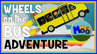 getlinkyoutube.com-Wheels on the Bus - A Stop Motion Animation Adventure for Kids