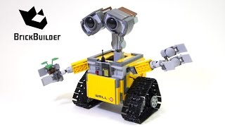 getlinkyoutube.com-Lego Ideas 21303 WALL•E - Lego Speed Build