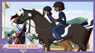 getlinkyoutube.com-Horseland Full Episodes - Bailey's New Friend | Season 1, Episode 13 | Horse Cartoons for Children