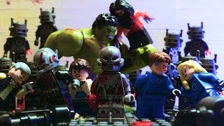 getlinkyoutube.com-Lego Avengers and X-Men - Eternal Life (PART 1/2)