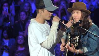 "getlinkyoutube.com-Justin Bieber & Dan Kanter ""Love Yourself"" An Evening With JB Chicago"