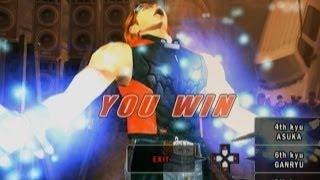 Tekken 5 - Hwoarang with Devil Jin's Moves