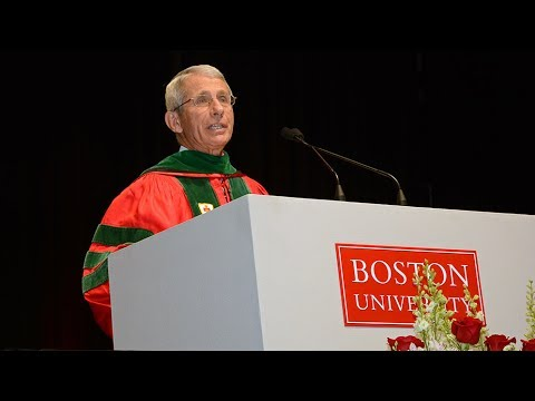 Anthony Fauci: School of Medicine Convocation Speaker 2017
