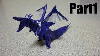 getlinkyoutube.com-Origami Fiery Dragon 折り紙 折り方 ドラゴン