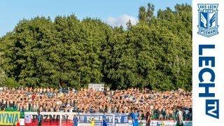 getlinkyoutube.com-Żalgiris Wilno - Lech Poznań 1:0 - doping kibiców Kolejorza