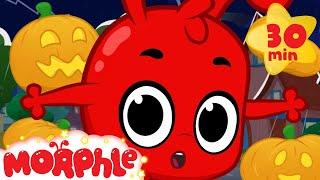 getlinkyoutube.com-Morphle's Halloween Night - Halloween animation for kids with My Magic Pet Morphle
