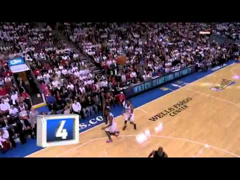 Playoffs First Round Top 10 Dunks 2011 HD