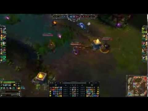 [League Of Legends 2014]SKT T1 Faker   Akali vs Ziggs   SKT T1 Eazyhoon, KR Challenger 554P