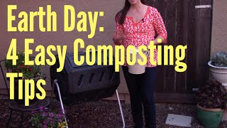 Earth Day: 4 Tips for a Successful Compost