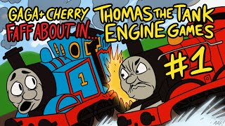 getlinkyoutube.com-Thomas the Tank Engine Games Part 1 - Gaga and Cherry Faff About In