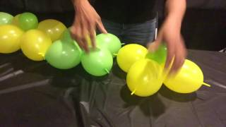 getlinkyoutube.com-How To Make A Balloon Wall