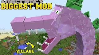 getlinkyoutube.com-Minecraft: BIGGEST MOB IN MINECRAFT (SPIKEZILLA IS HERE!) Mod Showcase
